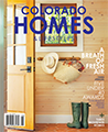 Colorado Homes and Lifestyles magazine cover