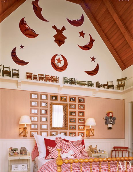 childrens' room, designed by architect Arthur Chabon